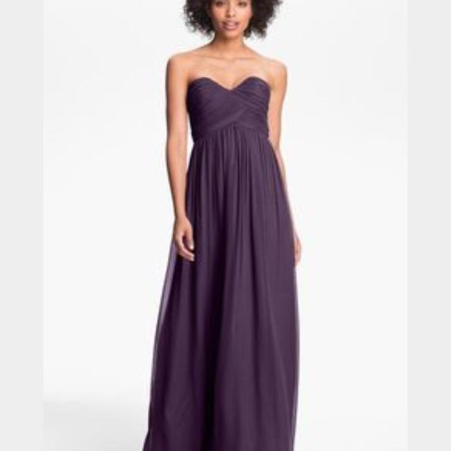 Item - Amethyst Chiffon Formal Bridesmaid/Mob Dress Size 6 (S)