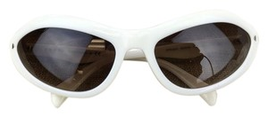 Prada Prada Cat Eye White Sunglasses SPR 05N 7S3-6S1