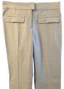 Max Studio Flare Pants Light Gray