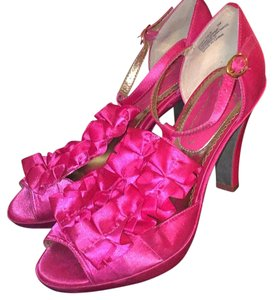Poetic License Pink Platforms