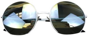 Emporio Armani Emporio Armani Round White Sunglasses Model 9633/S Color HIDBW