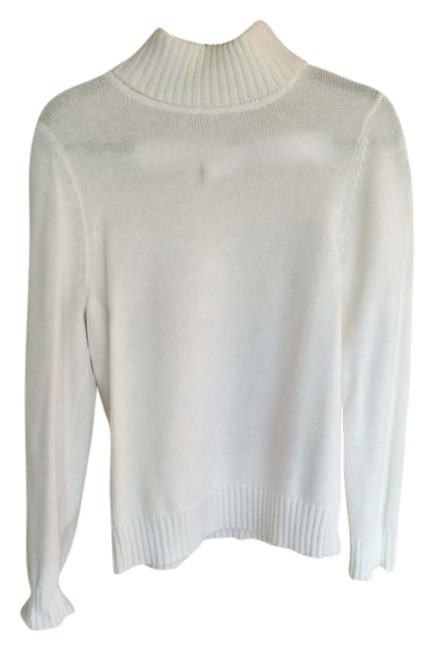 Preload https://item2.tradesy.com/images/croft-and-barrow-white-turtleneck-sweaterpullover-size-10-m-1624476-0-0.jpg?width=400&height=650