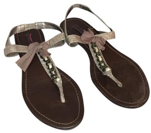 Material Girl Taupe Sandals