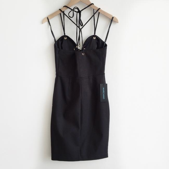 Marciano Sexy Curves Halter Lace Up Dress Image 5