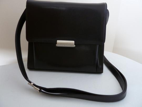 Mandarina Duck Classic Leather Shoulder Bag