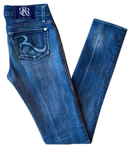 Rock & Republic Sz 25 Sz 2 Skinny Jeans-Medium Wash