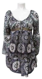Custo Barcelona Silk Blouse Tunic