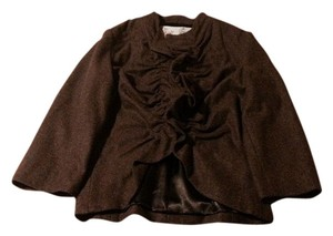 Anthropologie Ruffle Jacket