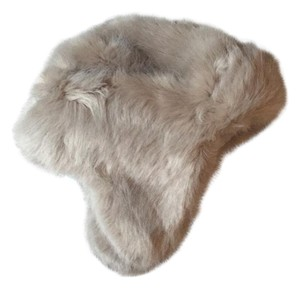 Restoration Hardware Faux Fur Hat