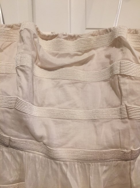 J.Crew Cotton Stripes Strapless Special Occasion Classic Dress Image 6