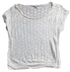 Forever 21 Top Cream lace