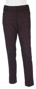 The Limited Drew Fit Ankle Capri/Cropped Pants Wine Tone - Soft Shine