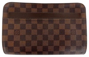 Louis Vuitton Lv Leather Brown Baguette