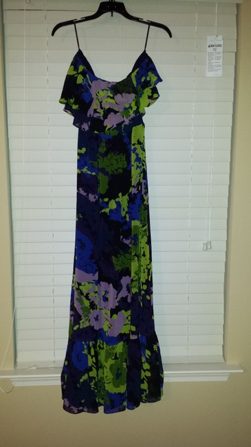 Multi Color Maxi Dress by MM Couture