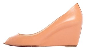 Christian Louboutin Blush Peach Wedges