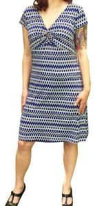 Laundry by Shelli Segal short dress Blue, Blk, Wht on Tradesy