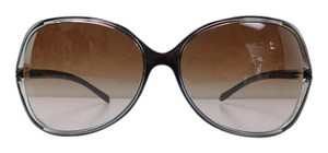 Tiffany & Co. New Tiffany & Co. Sunglasses TF 4044-B 8117/3B Brown Gold Acetate Full-Frame Rhinestone Brown Gradient Made in Italy 58mm