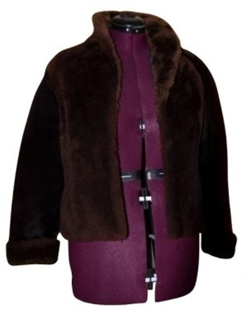 Preload https://item1.tradesy.com/images/brown-mouton-sheep-skin-jacket-fur-coat-size-6-s-16250-0-0.jpg?width=400&height=650