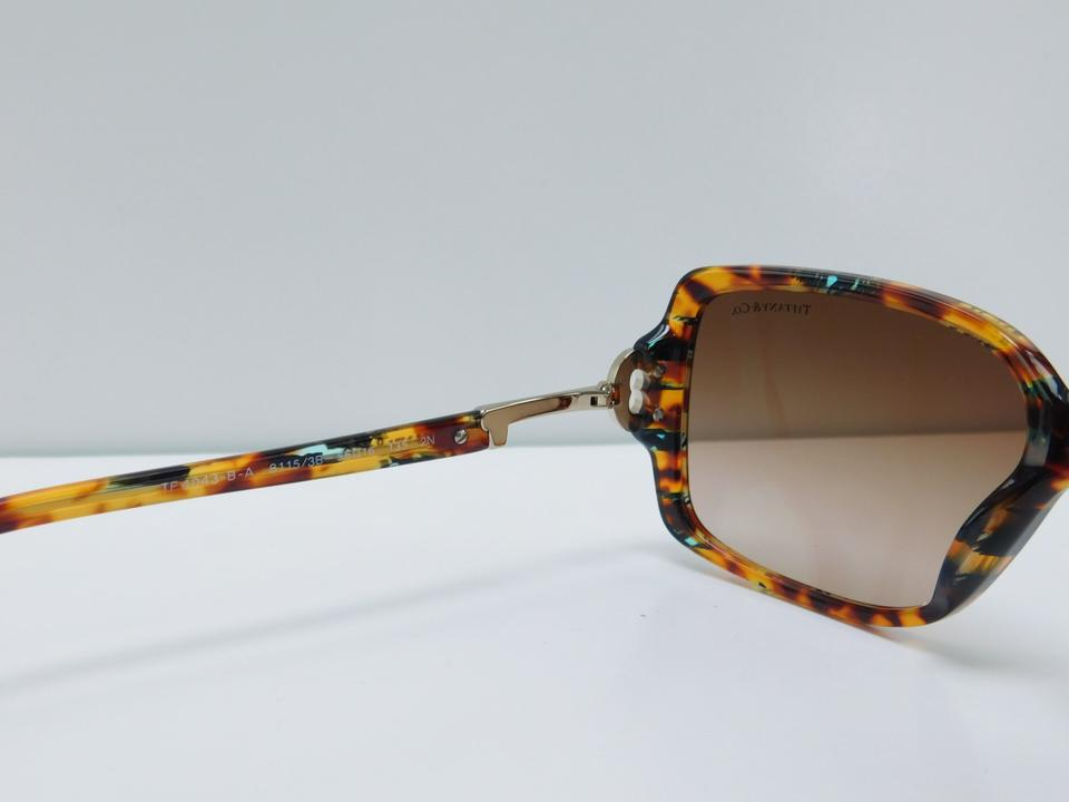 2bd0e2a8fbd Tiffany   Co. New Sunglasses TF 4043-B-A 8115 3B Colored Havana ...