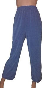 Susan Graver Capri/Cropped Pants French Blue Peachskin