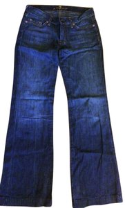 7 For All Mankind Trouser Bootcut Trouser/Wide Leg Jeans-Medium Wash