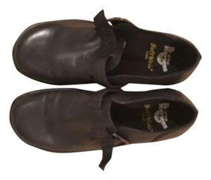 Dr. Martens Leather Casual Comfortable Black Mules