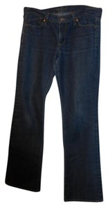 Old Navy Dark Rinse Midrise Long Boot Cut Jeans-Dark Rinse