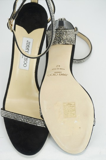 Jimmy Choo 0603608 Bridal Pump Sandal Strappy Black Formal Image 10