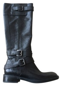 Enzo Angiolini Leather Black Boots