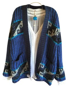 Free People Tribal Med Combo Cardigan
