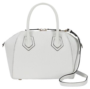 Rebecca Minkoff New With Tags Leather Perry Satchel in White