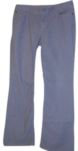 Eddie Bauer Curvy Corduroy Boot Cut Pants grey