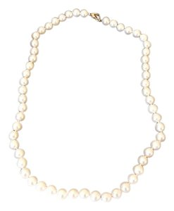 Neiman Marcus Pearl Necklace with 14KT Gold Clasp