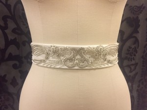Simone Carvalli Art Deco Beaded Bridal Belt
