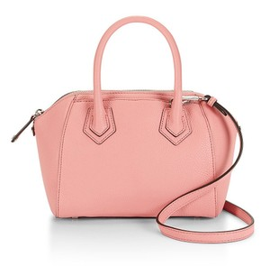 Rebecca Minkoff New With Tags Leather Perry Pink Silver Satchel in Guava