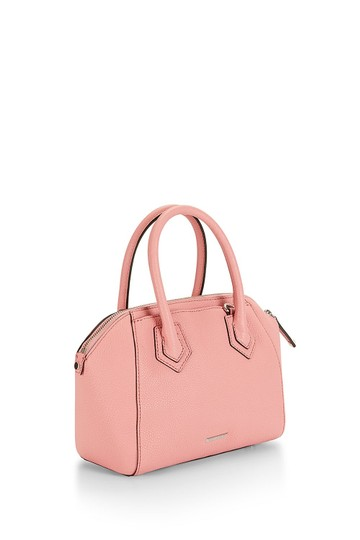 Rebecca Minkoff Leather Perry Pink Silver Satchel in New With Tags Guava Image 1