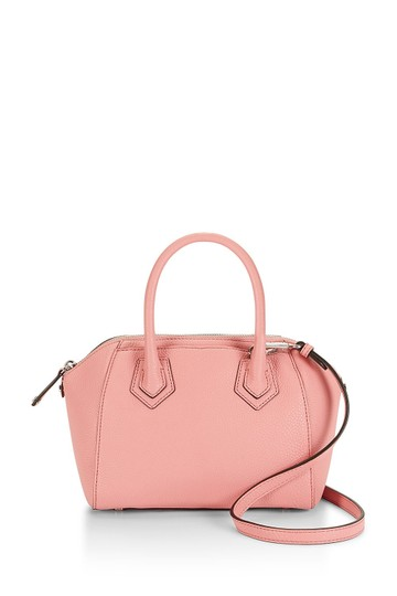 Rebecca Minkoff Leather Perry Pink Silver Satchel in New With Tags Guava Image 4