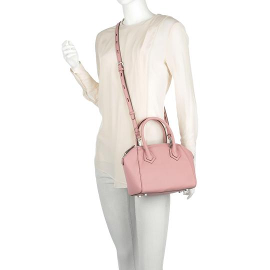 Rebecca Minkoff Leather Perry Pink Silver Satchel in New With Tags Guava Image 5