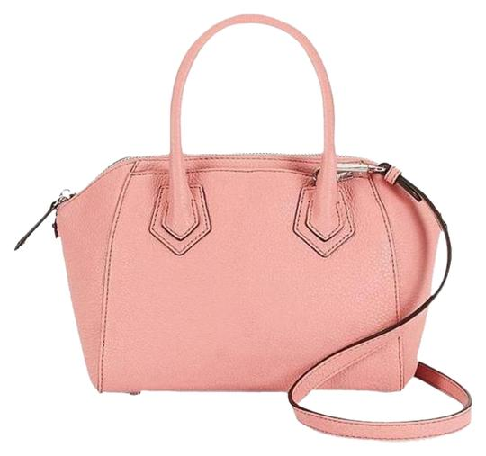 Rebecca Minkoff Leather Perry Pink Silver Satchel in New With Tags Guava Image 6