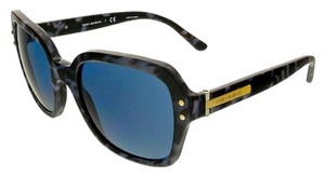 Tory Burch Tory Burch Navy Tweed Square Sunglasses