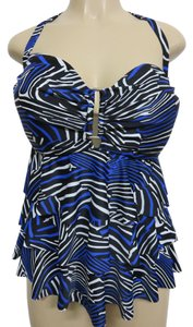 Other NWT Collection by Catalina tankini triple tier top Size 2X(18w-20w)