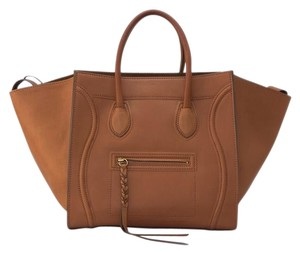 Céline Phantom Phantom Tote in Natural Tan Celine