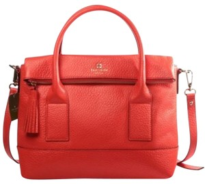 Kate Spade Satchel in Red Orange