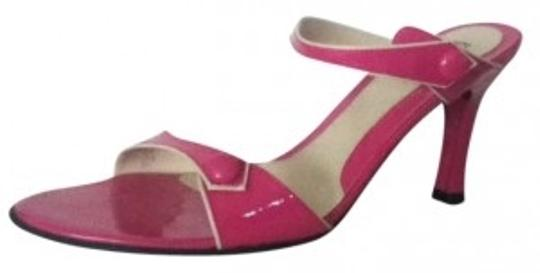Franco Sarto #strappy #buttons Pink Sandals