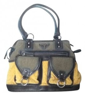 Prada Satchel in Yellow/Multi