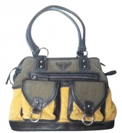 Preload https://img-static.tradesy.com/item/162584/prada-funky-yellowmulti-faux-fur-woven-textile-satchel-0-0-540-540.jpg