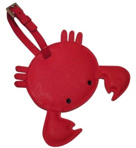 Kate Spade kate spade Make A Splash Geranium Crab Luggage Tag