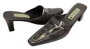 Brighton Size 8.00 Narrow Brown Mules