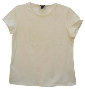 Eileen Fisher Crew Neck T Shirt White