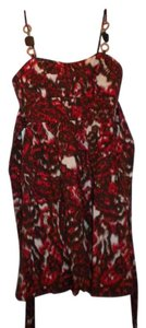 Speechless short dress Brown/red on Tradesy